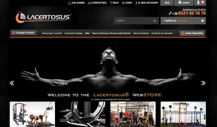 e-Commerce Lacertosus.com
