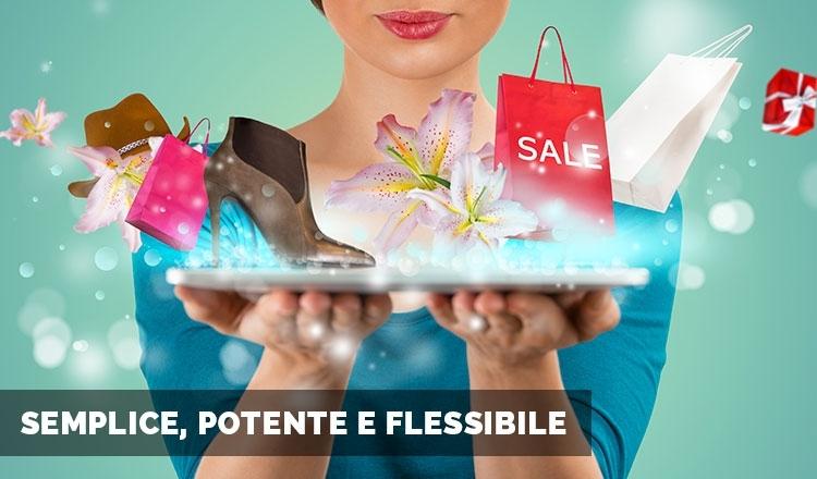Caratteristiche sito web e-commerce