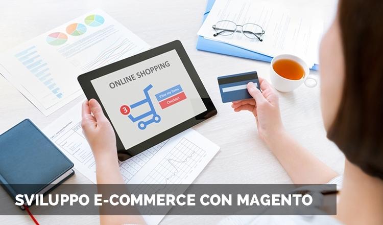 Sviluppo e-commerce con Magento