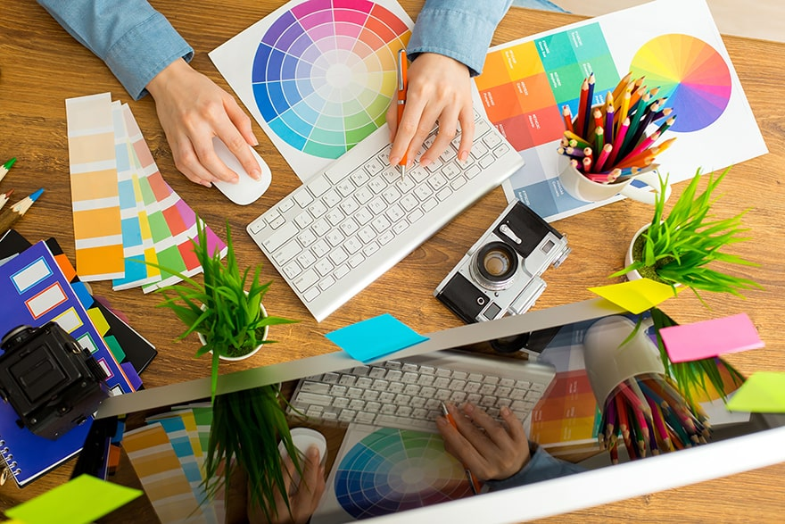 Come creare un portfolio grafico